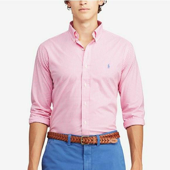 8d3ca3a1a Polo by Ralph Lauren Shirts | Nwot Mens Classic Fit Stretch Poplin ...